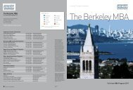mba.haas.berkeley.edu The Berkeley MBA