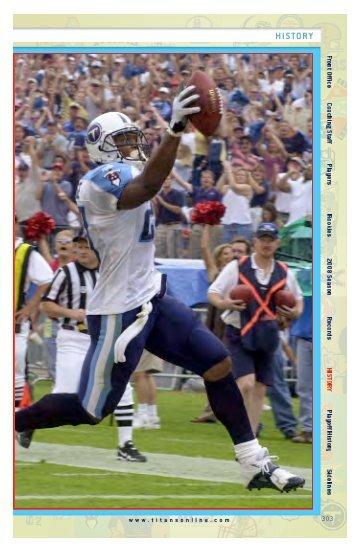 H I S TOR Y - NFL.com
