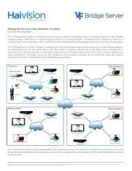 download haivision s-vf-bri-tr brochure - Go Electronic