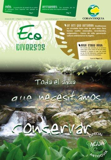 Ecodiversos No. 24 - Inicio - Corantioquia