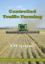 CTF for Southern NSW - Precision Agriculture