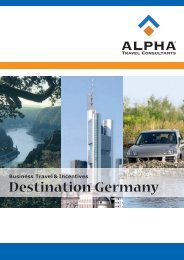 Destination Germany