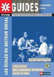 Les écoles du secteur Social rentrée 2014 - Onisep