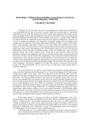 Social Roles / Political Responsibilities: Jean Renoir's Search for ...