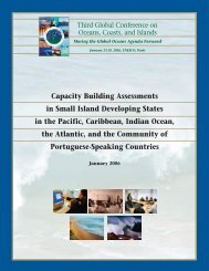 Capacity Building Assessments in Small Island Developing States in ...