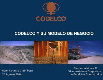 CODELCO Y SU MODELO DE NEGOCIO - Asimet