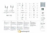 Spectral Tray PX701 installatie handleiding