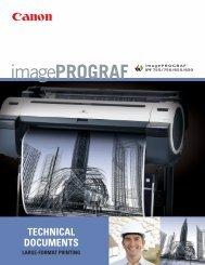 imagePROGRAF 755 technical documents/large format ... - SCANtopia