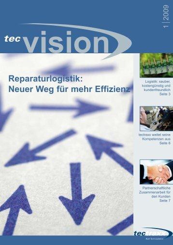 Reparaturlogistik: Neuer Weg für mehr Effizienz - tectraxx