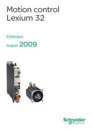 Motion control Lexium 32 - Setec