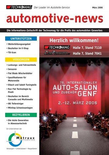 Herzlich willkommen! - Technomag AG