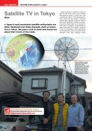 Satellite TV in Tokyo Aluo - TELE-satellite International Magazine
