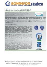 Air Liquide Essentiel - Bonnefon Soudure