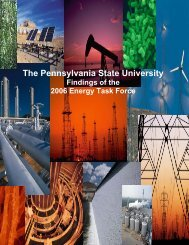 Energy Task Force Report - Penn State Institutes of Energy and the ...