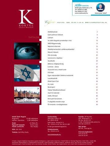Koktélmagazin 2008 április