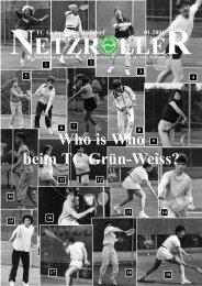 Who is Who beim TC Grün-Weiss? - TC Grün-Weiss Walldorf