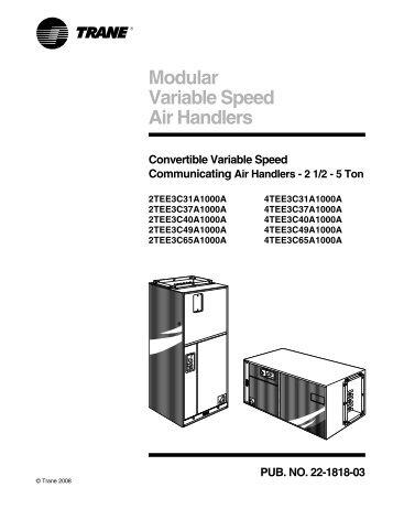 CLCH-PRC004-EN M-Series Climate Changerâ¢ Air Handlers