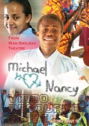 TB Michael Nancy book A5.indd - Wan Smolbag Theatre