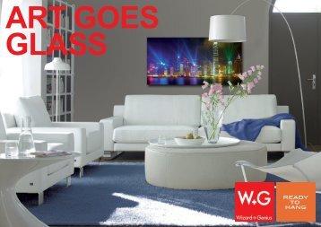 ART GOES GLASS 30x30 cm - Wizard & Genius