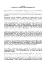 Omelia San Bernardo 2008.pdf - Chiesa Cattolica Italiana