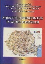 Structuri administrative în istoria românilor