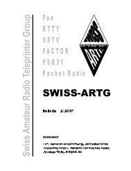 Fachtagung und 37. GV der SWISS-ARTG