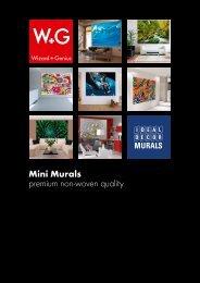 Mini Murals premium non-woven quality