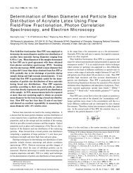 Determination of Mean Diameter and Particle Size Distribution of ...