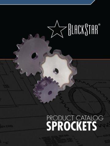 BlackStar Sprocket Catalog (PDF) - McGuire Bearing Company