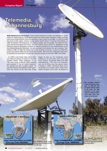 Telemedia, Johannesburg
