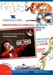 Scarica Locandina - Grimaldi Lines