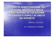 Cimmino - 15 febbraio 2010 - Confindustria Genova