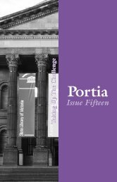 Issue Fifteen - Victorian Women Lawyers