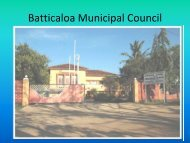 Batticaloa Municipal Council