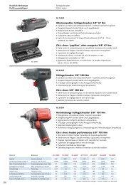 Druckluftwerkzeuge - Technomag AG