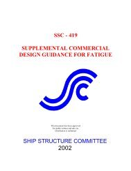 ssc - 419 supplemental commercial design guidance for fatigue ship ...
