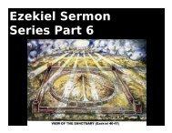 Ezekiel Sermon Series Part 6 - Congregation Yeshuat Yisrael