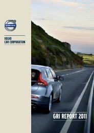 Download Volvo Cars 2011 GRI Report