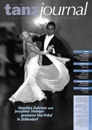 Mauritius Dalelane und Josephine Steiniger gewinnen Mai-Pokal in ...