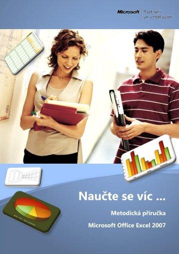 Excel 2007 - metodika .pdf - Webnode
