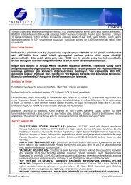 Gün Ortası 12/04/2013 Yurt dışı piyasalarda satıcılı seyirler ...