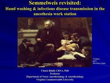 Semmelweis revisited