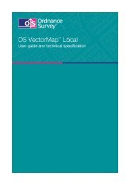 OS VectorMap Local user guide and technical - Digimap