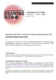 drawing now paris i le salon du dessin contemporain ... - Observatoire