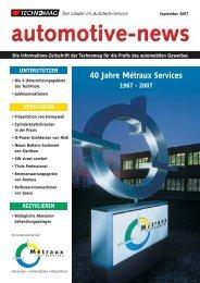 Auto-News 3/2007 de - Technomag AG