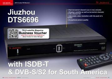 Jiuzhou DTS6696 - TELE-satellite International Magazine