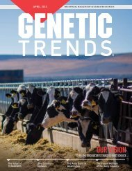 Our VISION - Accelerated Genetics
