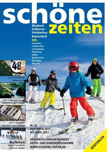 """Download """"Schöne Zeiten, Ausgabe 22, Dezember 2011 - April"""