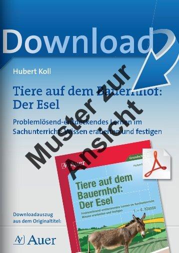 6759 downloadcover der Esel