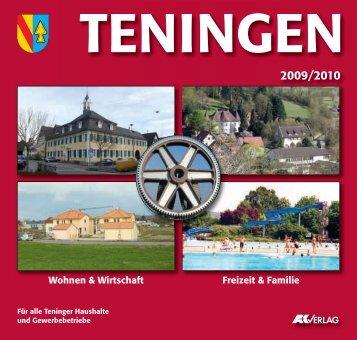 Korrekturabzug_Maske.qxd - Gemeinde Teningen